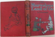 L Frank Baum / The Marvelous Land of Oz First Edition 1904 #1508003