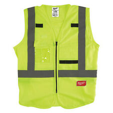 Milwaukee 48-73-5062 High Visibility Yellow Safety Vest - L/Xl (Csa)