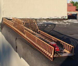 63 Inch HO Girder Bridge Set Kit Lasercut MDF New Strong & Good Looking