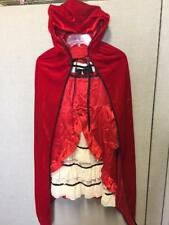 CHILD FAIRYTALE RED RIDING HOOD COSTUME SIZE S/M (with defect)