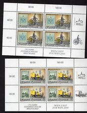 Austria WIPA 2000 Five Different Mini Sheets Issued for this Event UM