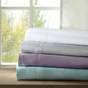 Luxury 4pc Rayon from Bamboo Sheet Set - Hypoallergenic & Antibacterial - SIZES