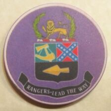 2nd Ranger Battalion Poker Chip 1997 Series Army Challenge Coin