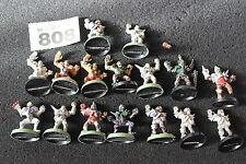 Games Workshop Giocatore Bloodbowl non morti Team 16 Figure in metallo ciotola del Sangue Morte JOB LOT