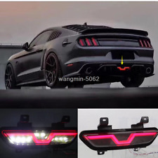 FOR Ford Mustang 2015-2019 Rear Bumper decoration lamp led brake light