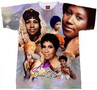 ARETHA FRANKLIN SUBLIMATION T-SHIRT..Black History t-shirts Black History Shirt,