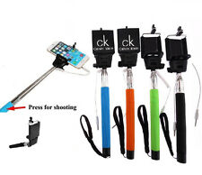 50 Personalized Extendable Wired Selfie Sticks - Custom Wholesale Bulk Lot
