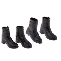 1:6 Woman's Ankle Boots Shoes Round Toe for Phicen Kumik CY CG Hot Toys