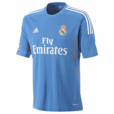 Maillots de football bleus extérieurs adidas