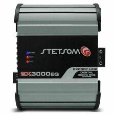 Stetsom EX3000 EQ - 3600W RMS 2 ohms Full Range Amplifier EQ Compact Design 3K