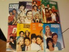 THREE'S COMPANY THE COMPLETE TV SERIES DVD Seasons 1-8 1 2 3 4 5 6 7 8 CIB