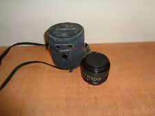 Canon FD 28mm 1:2.8 Lens with Rear Cap and Case