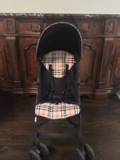 Rare Maclaren Burberry Stroller Authentic Special Edition and Clean