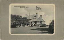 Falmouth Cape Cod MA Lawrence High School c1910 Postcard