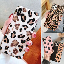 Leopard Print Soft Rubber Case Cover F Apple iPhone 11 Pro Max SE 2nd XR XS 8 7+