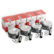 4x Pistons & Rings Φ20mm / 82.5mm For VW GTI MK5 MKV Audi A3 A4 2.0 TFSI BPY BWA