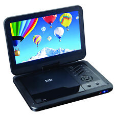 "Supersonic  10.1"" Portable DVD Player with USB/SD Input/ AC/DC Swivel Screen"