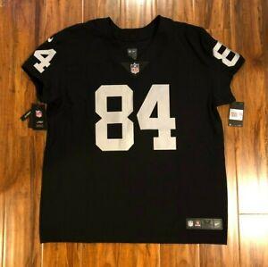 Nike Elite Antonio Brown Oakland Raiders Jersey Sz 52 Authentic $325 851612-016