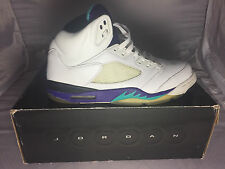 100% AUTHENTIC NIKE AIR JORDAN RETRO LS V 5 GRAPE SZ 11 - 2006 LIFESTYLE RELEASE