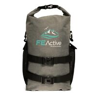 FE Active 25 Liter Dry Bag Waterproof Laptop Dry Backpack School Sport Rucksack