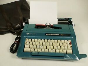 Vintage Smith Corona Sterling Automatic 12 Touch Electric Typewriter READ