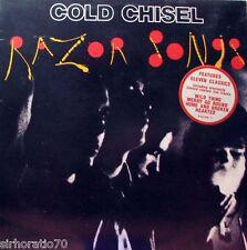 COLD CHISEL Razor Songs OZ LP 1987 with Original Sticker