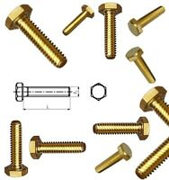 "Whitworth 3//16/"" x 3//4/"" Hexagon set screws Pack of 10. fully threaded"