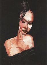 Postcard  David Choe Somnambulant 1999 MINT