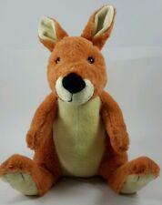 "Kohls Care Kangaroo SOFT Plush 12"" Eric Carle Does A Kangaroo Have A Mother Too"