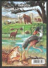 FRANCE 2008...Miniature Sheet n° 119 MNH ** ANIMALS PREHISTORIC