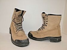 Terra Men's Protector Steel Toe Work Boot Wheat Size 9 M