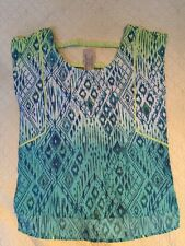 Women's Green American Eagle Outfitters Blouse-size M-