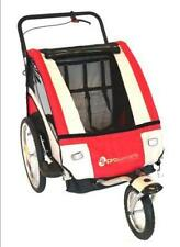 Pro Series Baby/Kids/Childrens Bicycle Trailer/Jogger/Pram Bike Suspension RED