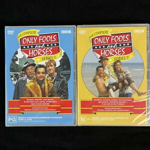 Only Fools And Horses The Complete Series 1 and 2 BBC DVD NEW PAL