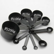 10Pcs/kit Kitchen Measuring Spoons Cup Set Baking Cooking Coffee Spoon Plastic