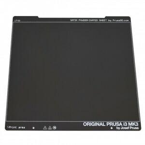 Genuine Prusa Satin Powder-Coated spring steel sheet.Fits Prusa i3 MK3/S&MK2.5/S