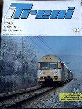 I Treni 133 1993 Locomotive E 332 Cenerentole del Trifase + Poster Loco E 428