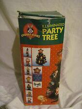 """20"""" Looney Tunes Illuminated Party Tree~Christmas Ornament~Tree Star 1998 Minami"""