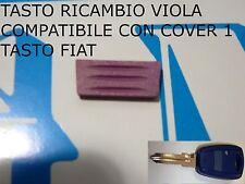 LLAVE ojal COLOR VIOLA para cubrir Fiat 500 600 STStilo Punto Marea SOLAMENTE