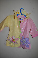 SUPER CUTE Kidorable Children's Lotus Flower Rain Coat SIZE 2T