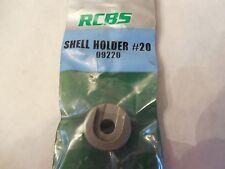*New; Rcbs Shell Holder #20; 09220; 45 Colt, 454 Casull