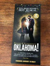 Oklahoma  the musical ad/flyer NYC Broadway 2019 Best Revival