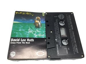 Crazy From The Heat By David Lee Roth Audio Cassette 1985 WEA Music Canada WB K7