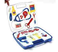 Portable Kids Doctor Nurse Medical Role Play Set Case Baby Kit Educational Toy E