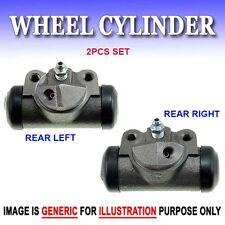 WC0263-2 Drum Brake Wheel Cylinder Rear L & R 2PC Set Fits Ford Mercury Edsel