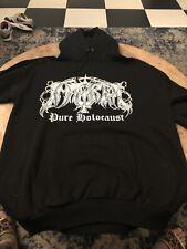 Immortal Pure Holocaust Hoodie Shirt XL Vintage Cradle Dimmu Mayhem Slayer NIN