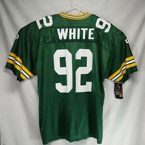 NWT Vintage Wilson Green Bay Packers Reggie White 92 Football Jersey Mens 2XL