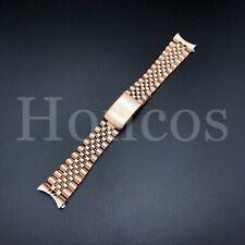 20MM ROSE GOLD JUBILEE BAND STRAP BRACELET FOR TUDOR PRINCE OYSTER DATE