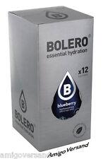 Bolero Drinks – Blueberry (Blueberry) - 12 Sachets for 18-36 Litre