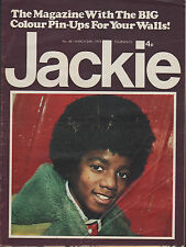 Jackie Magazine 24 March 1973 No.481  Michael Jackson  Alice Cooper Noel Edmonds